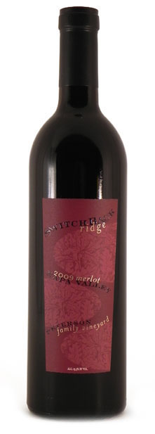 2009 Switchback Ridge Merlot