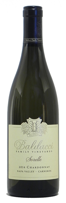 "2014 Baldacci Family Vineyards ""Sorelle"" Chardonnay $38"