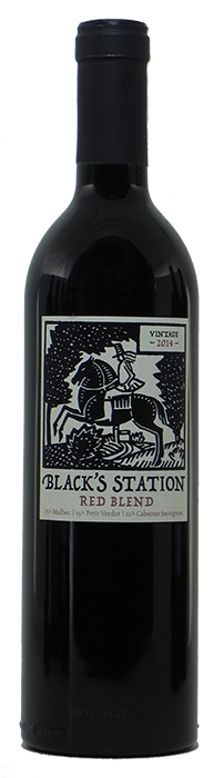 2014 Black Station Red Wine (Crew Wine Co) $12