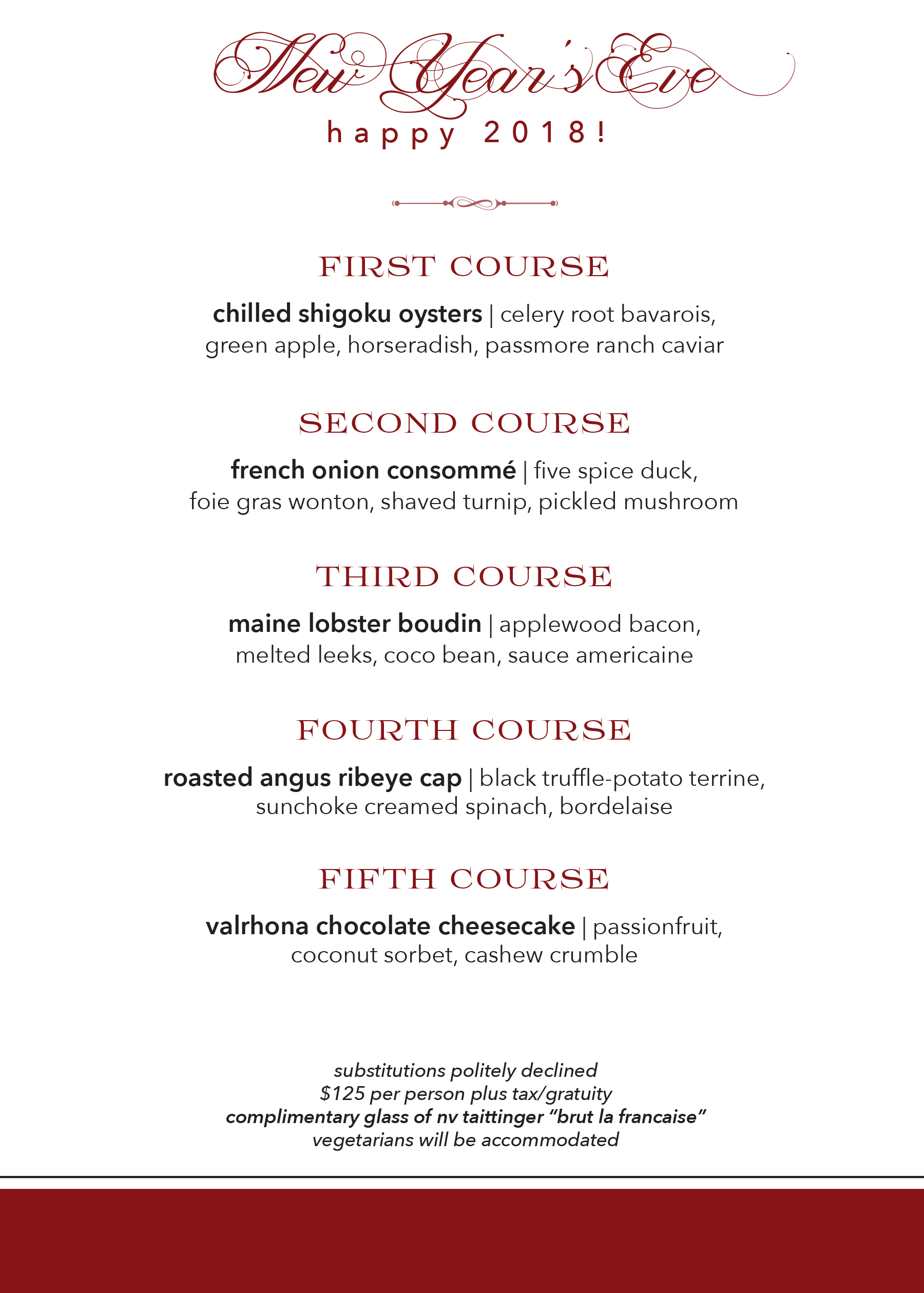 Opentable New Years Eve
