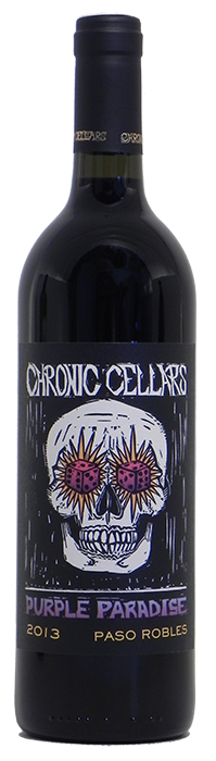 2013 Chronic Cellars Purple Paradise Red