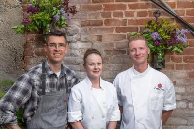 Chef Olivia Poulos & Chef Tim Dube