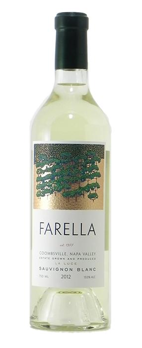 """2012 Farella """"La Luce"""" Sauvignon Blanc"""
