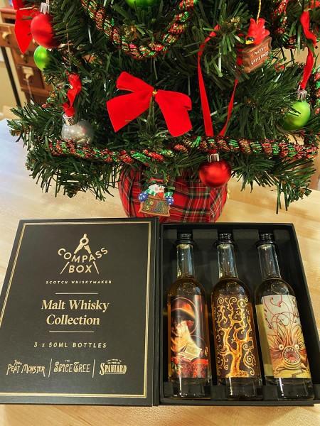 """COMPASS BOX """"Malt Whisky"""" 50ML GIFT PACK"""