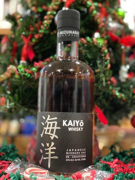 Kaiyo Mizunara Oak Whisky