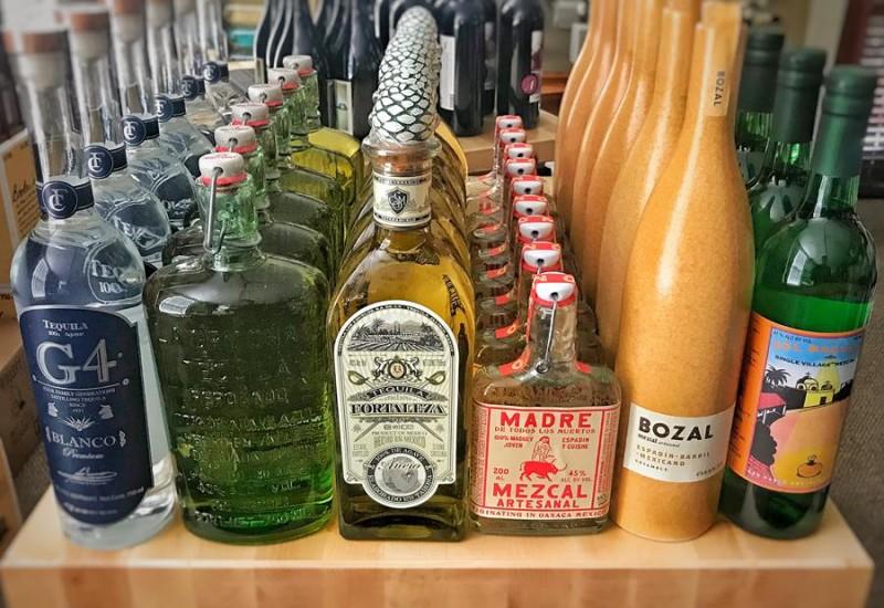 Tequila & Mezcal tasting