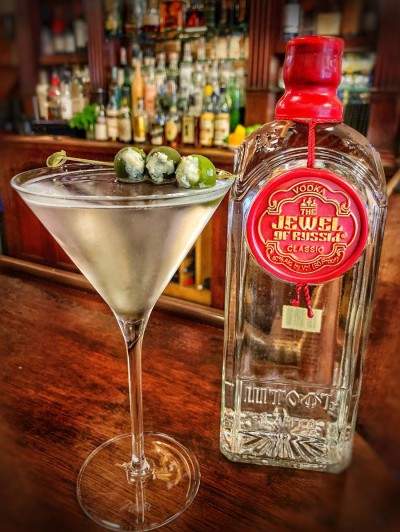 "jewel of russia ""classic"" martini"