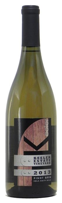 """2013 Keeler """"Estate Vineyard"""" Pinot Gris $22"""