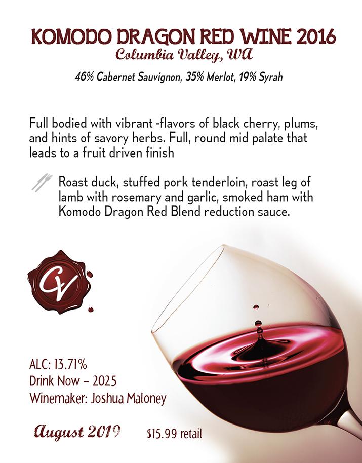 Komodo Red Wine