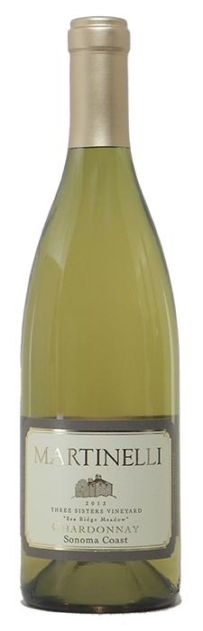 "2013 Martinelli ""3Sisters"" Chardonnay $60"