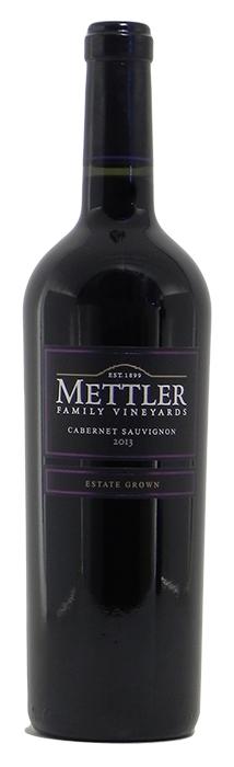2013 Mettler Cabernet Sauvignon