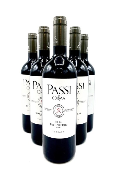 Passi di Orma Red Wine 2016