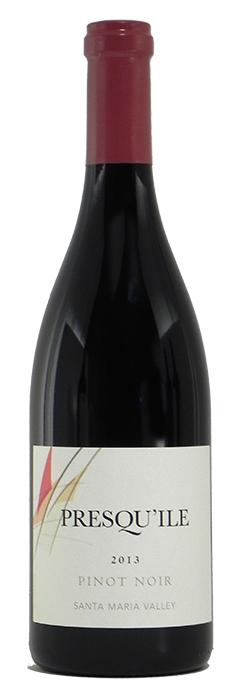 2013 Presqu'ile Pinot Noir