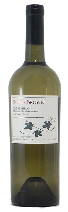 "2012 Saxon Brown ""Fighting Brothers"" Semillon"