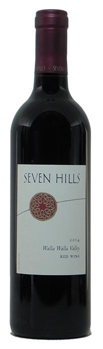2014 Seven Hills Red Wine $45