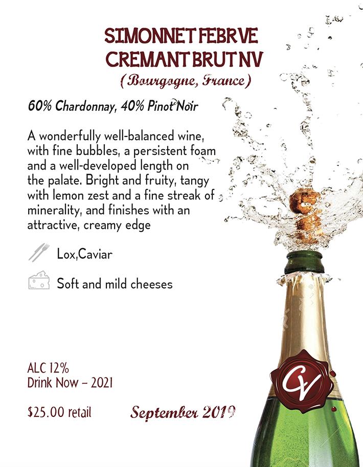 Simonnet-Febvre Cremant de Bourgogne Brut 2
