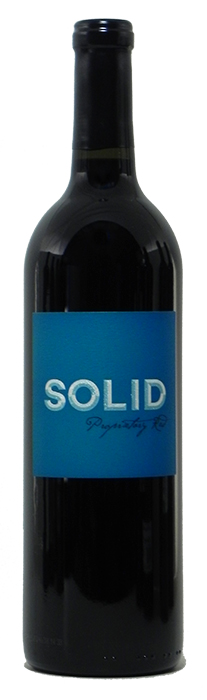 2013 Solid Proprietary Red Wine $27