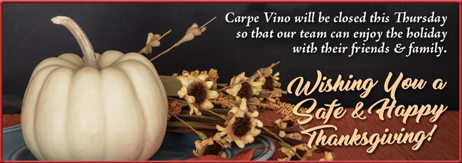 WE GOT WINE…AND WINE…AND MORE WINE! - Carpe Vino Auburn