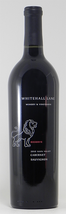 2010 Whitehall Lane Reserve Cabernet Sauvignon