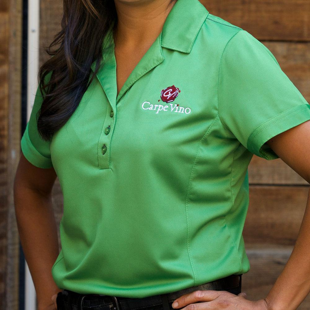Womans-Polo-Green