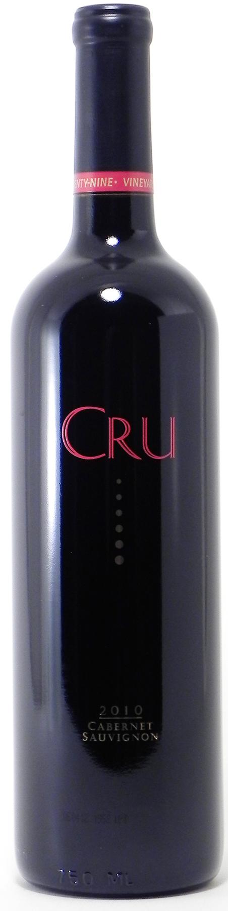 "2010 Vineyard 29 ""Cru"" Cabernet Sauvignon"