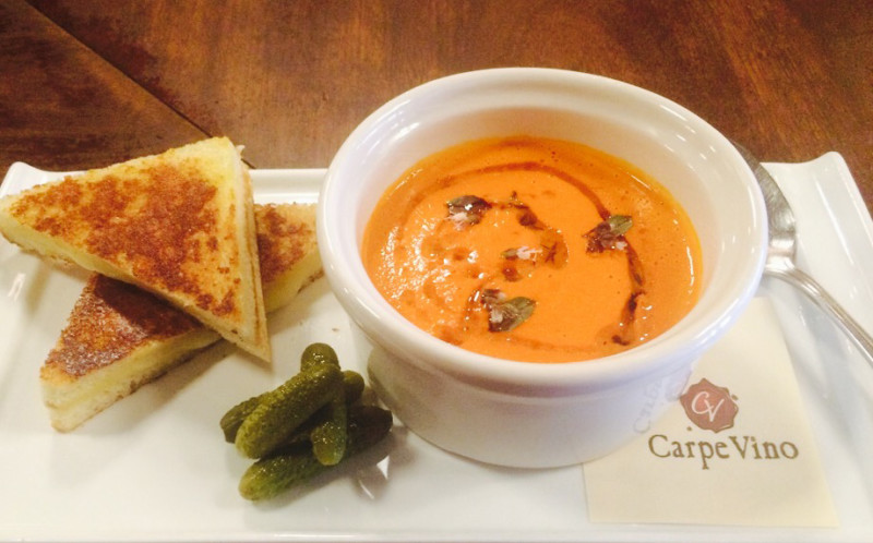 Bar Special: Grilled Cheese & Tomato Soup