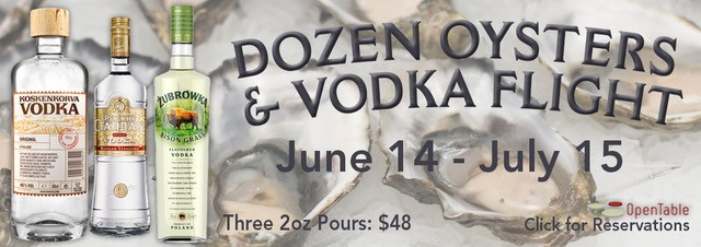 oysters-vodka