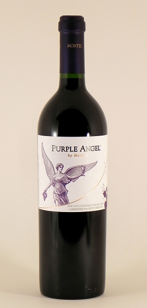 "Montes ""Purple Angel"" Red Wine 2010 (Colchagua Valley, Chile)"