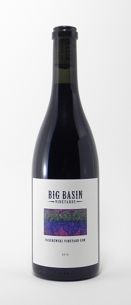 "Big Basin ""GSM Paderewski Vineyard"" Red Wine 2010 (Paso Robles)"