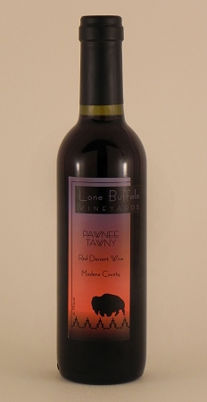"Lone Buffalo Vineyards ""Pawnee Tawny"" Red Dessert Wine Non-Vintage (Madera County)"