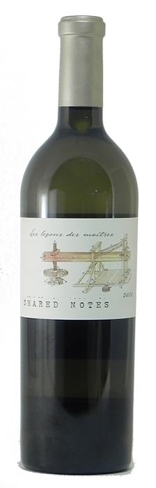 """2012 Shared Notes """"les Lecons des Maitres"""" (Sonoma County)"""
