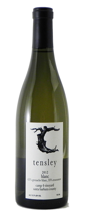 "2012 Tensley ""Camp 4 Vineyard Blanc"""